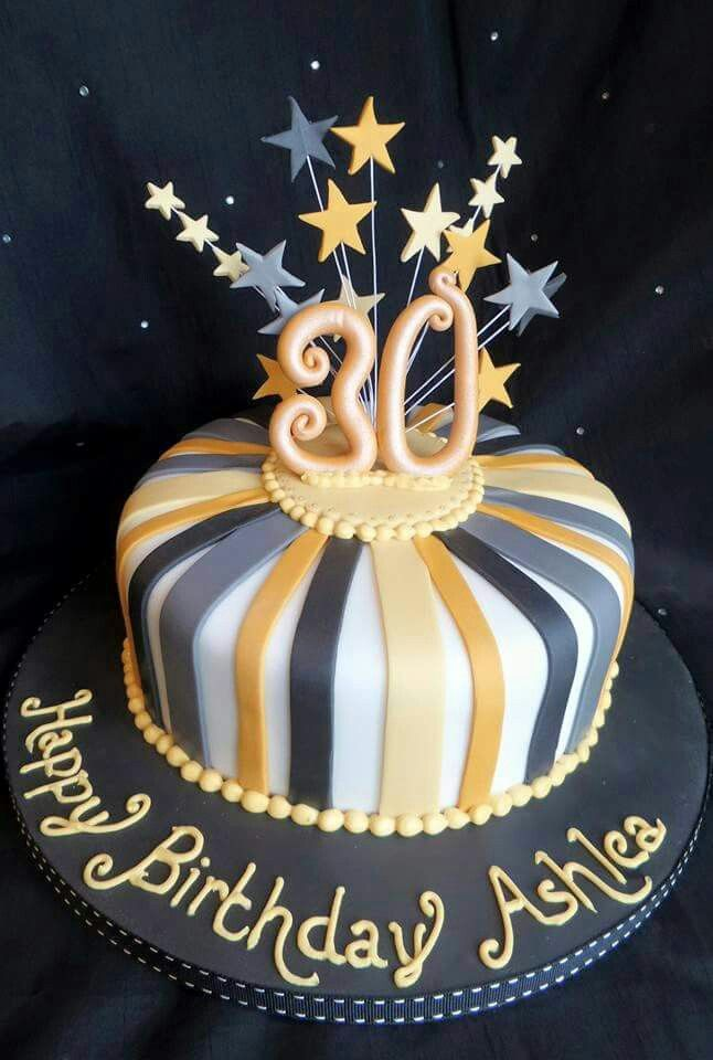 25 best ideas about 30th cake on pinterest 30 birthday for 30th birthday decoration ideas for her
