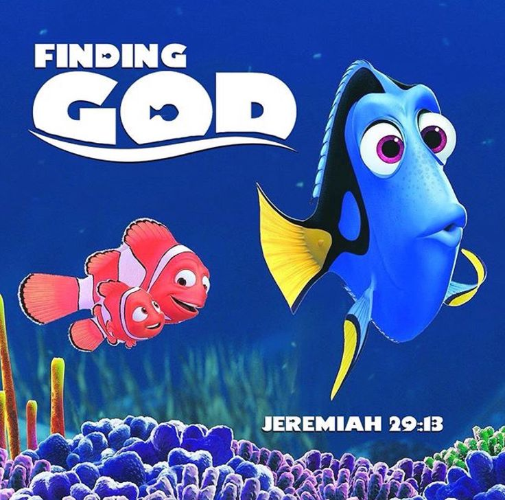 finding nemo and god Once again, my students and i satisfied the literature portion of the research course using joseph campbell's story rubric as our focus to evaluate everyone's understanding of the hero cycle, this semester i showed finding nemo instead of the matrix, the tried-and-true film i have used previously.