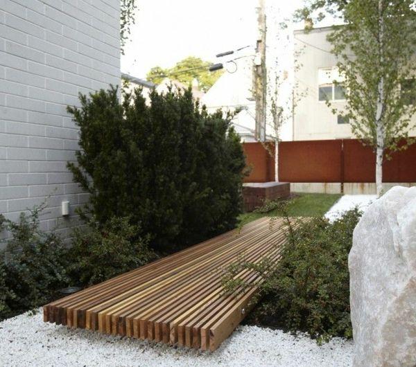 Les 25 meilleures id es de la cat gorie jardin en gravier - Gravier decoratif point p ...