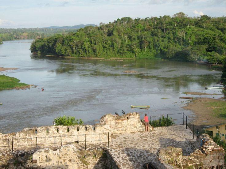 La Fortaleza de la Inmaculada de La Concepción de María,rio san Juan,Nicaragua.
