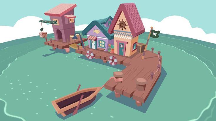 Pirate Wharf by paulopina