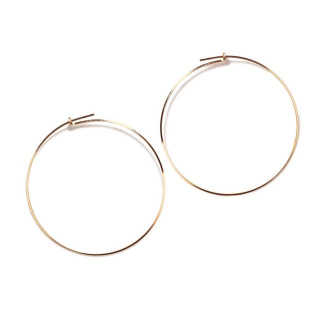 By Boe gold hoop earring