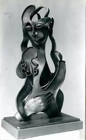 Maternidad escultura - Gargallo