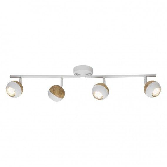 LED-Deckenstrahler Scan I - Stahl | home24