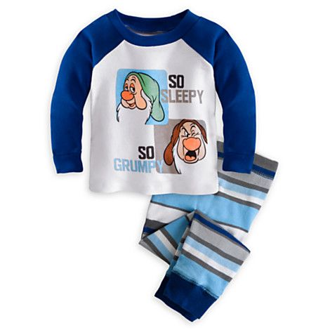 Grumpy and Sleepy PJ Pal for Baby | PJ Pals | Disney Store
