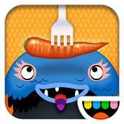 Toca Kitchen Monsters - laga mat till två monster betyg 4/5 #pedagogiskaspel