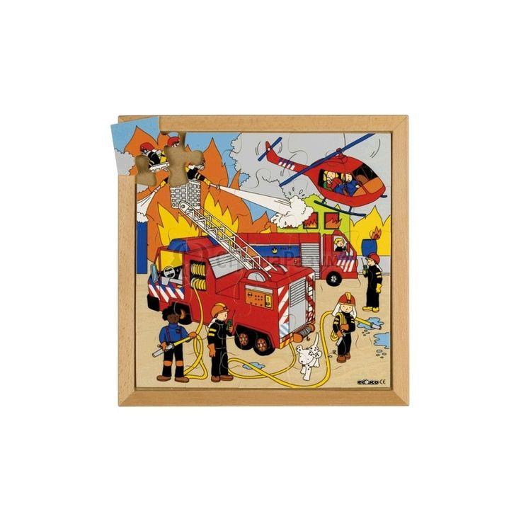 Educo Пазл «Пожарные машины»