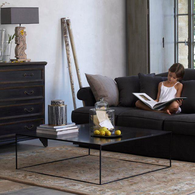 Vierkante lage tafel in metaal, romy Am.Pm. | La Redoute