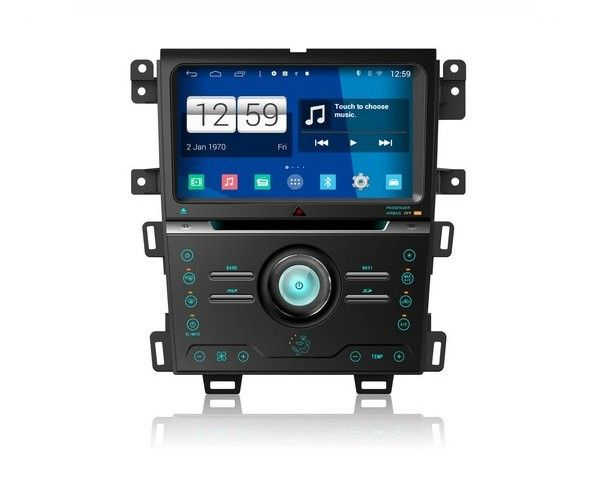 promo s160 android 4 4 4 car dvd player for ford edge digital air version 2013 2015 car audio stereo #edge #network
