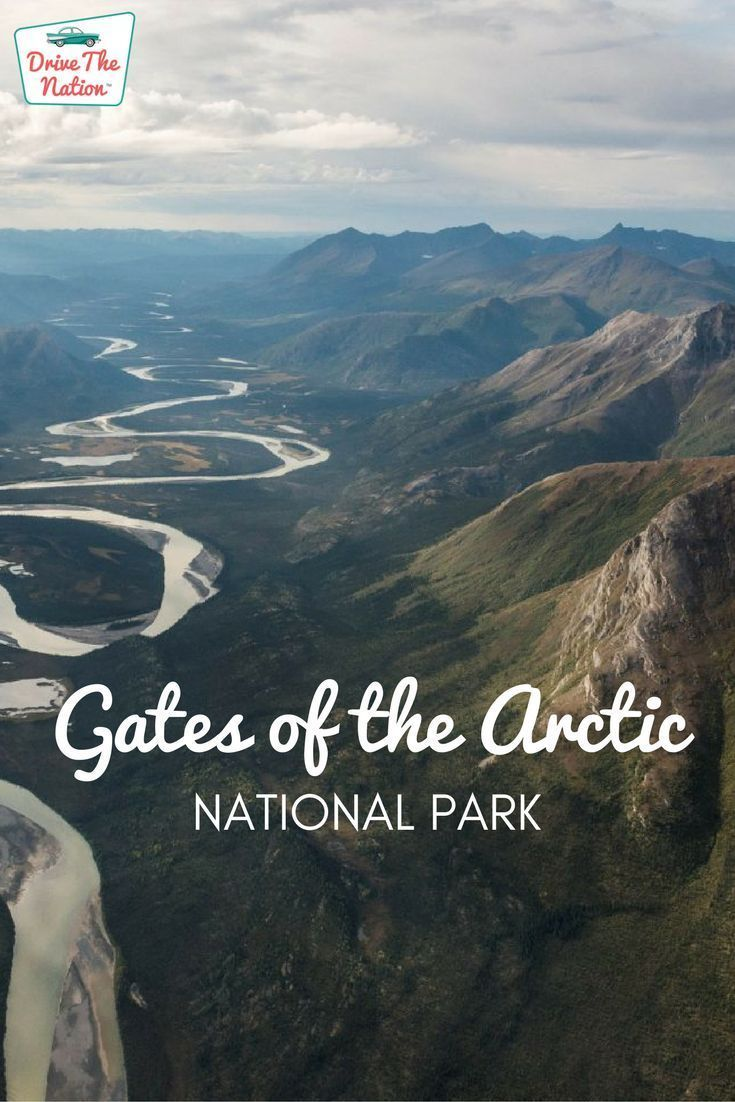 One of the most remote national parks in America, Gates of the Arctic offers expansive vistas and wildlife viewing. #OutdoorVacation