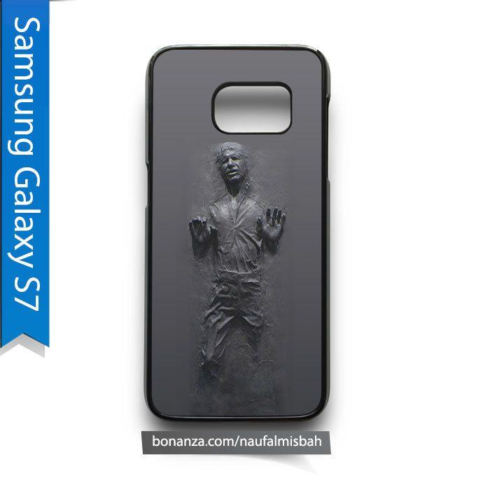 Han Solo Frozen Door Decal Star Wars Samsung Galaxy S7 Case Cover