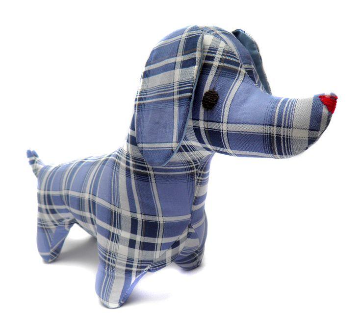 Muñeco de Trapo salchicha escocés