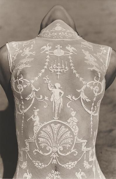 Vivienne Westwood Bodysuit 1992 - Photography by Herb Ritts.