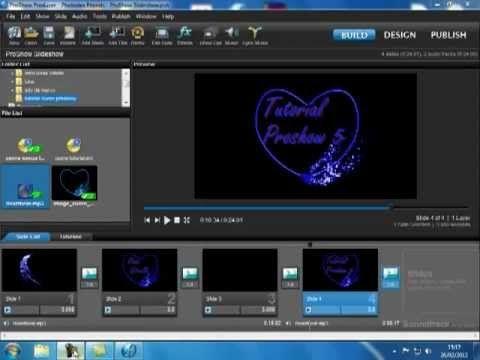 Proshow 5 Tutorial in Italiano Cuore che batte. Heartbeat - YouTube