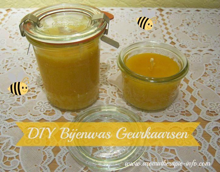 Zelf bijenwas geurkaarsen maken is leuk en makkelijk om te doen en geeft je huis een heerlijke gezonde geur.