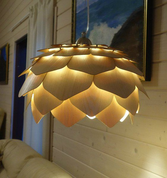 Pendant Lighting – LOTUS. Pendant wooden lamp – a unique product by lightswood…