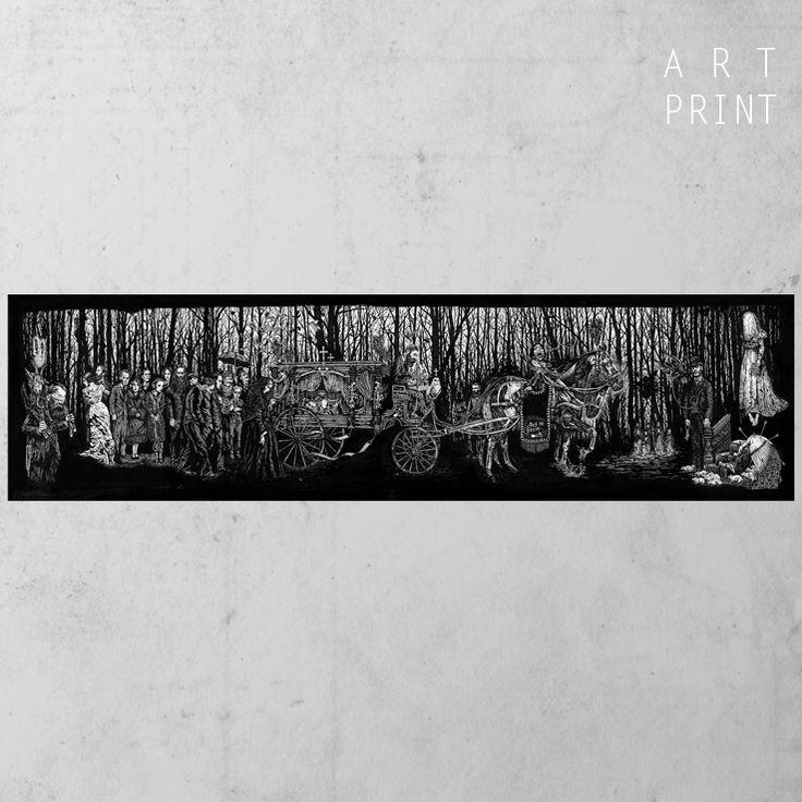 Procession - tirage d'art de Jean-Luc Navette