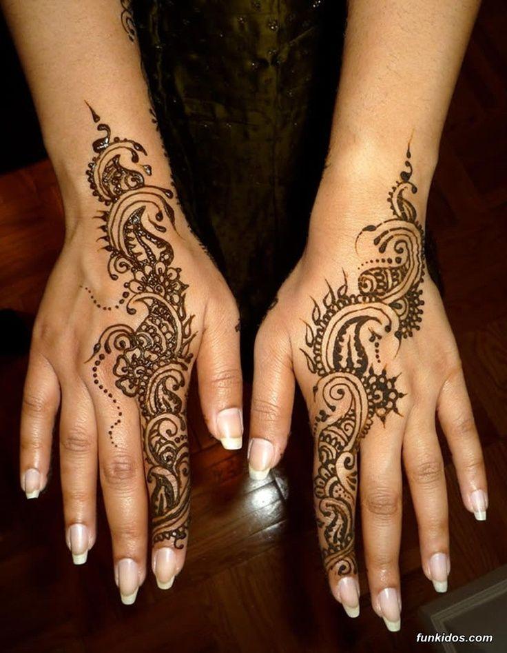 Stunning Mehandi Design on Arms
