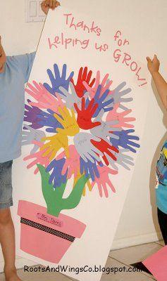 teacher appreciation week ideas | RootsAndWingsCo: Teacher appreciation week door sign