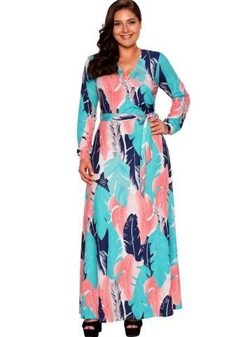 Curvy Feather Dress