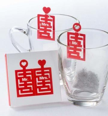 促銷↘ 婚禮小物-雙喜臨門(200組);購買200組婚禮茶包,再加贈5組