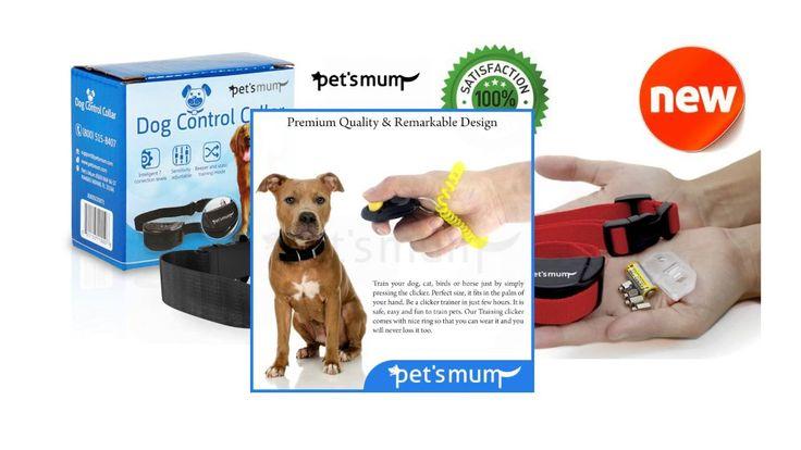 Pet's Mum is a professional pet supply company. Pet's Mum sales premium quality pet products on amazon.com https://www.youtube.com/watch?v=0ju5-tQInvI   #dogwhistle #dogcollar #dogtrainingcollar #pettrainingclicker #PetsMumproducts