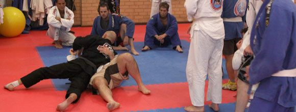 Brazilian Jiu-Jitsu  Brazilain Jiu-Jitsu is a martial art, combat sport, and a self-defense system that focuses on grappling and especially ground fighting.  http://www.academymartialarts.com/item/12-haedong-kumdo