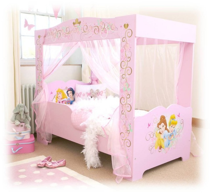le lit baldaquin 100 princesse disney. Black Bedroom Furniture Sets. Home Design Ideas