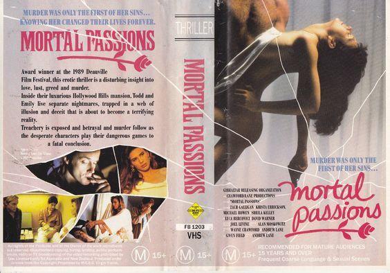 """MORTAL PASSIONS"" (US, 1989), PAL VHS, MCEG VIRGIN Vision #Cannes #goth #EU27 #Erasmus #Brussels #Brexit #nostalgie #Trump #Iovotono #Gibraltar #Deauville #France #Frankrijk ""#film #festival"" #Λισαβόνα #Πορτογαλία #arthouse #Indie #bohemian #Stam1na #erotiek #vuurwapen #erotisch #orgasm #alastomat #nue #nude #NARS ""#civil #law"" #kunst #taidot #Coraline #Sexit #flower #handball #hockey #Eurobasket #Lusitania ""#Charlotte #Gainsbourg"" ""#Richard #Branson"" #Bryssel #Guylian #Arla #Alpro #Unilever…"