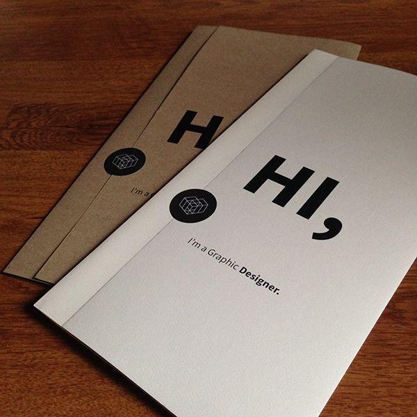 Beautiful minimalist graphic designer resumes! #minimalism #graphicdesign #creativeresumes