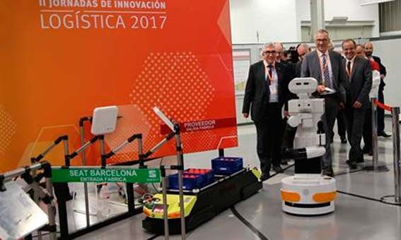 SEAT acoge las últimas novedades tecnológicas para impulsar la competitividad en unas Jornadas de Innovación Logística