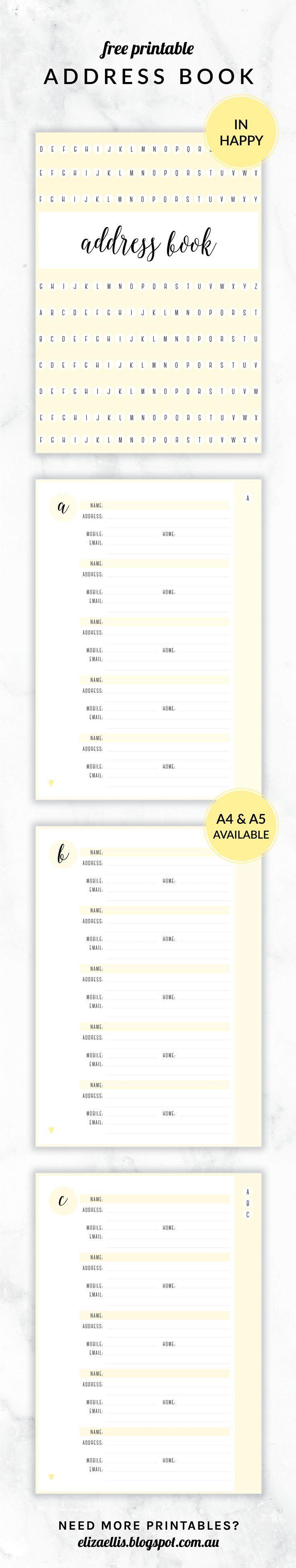 910 besten Print and Paper Bilder auf Pinterest | Planer, Kostenlose ...