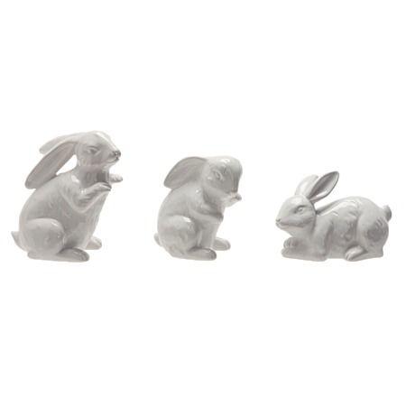 Rabbit Decor Assorted White - Giftware - Home Decor - Homewares - The Warehouse