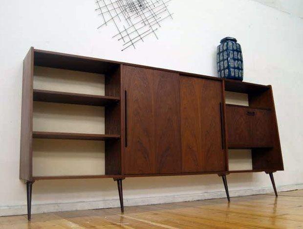 Zweeds dressoir/sideboard, design Nils Jonsson, jaren 70