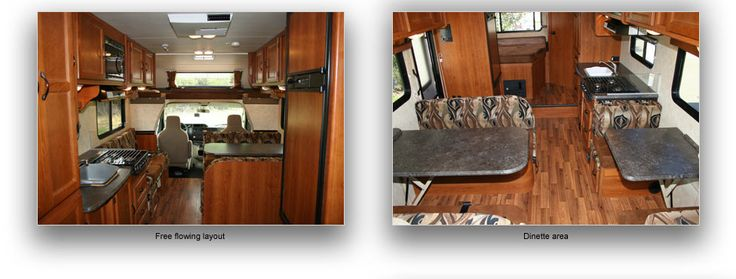 RV Rent - Motorhome Rental - Road Bear RV USA - Class C 23-26'