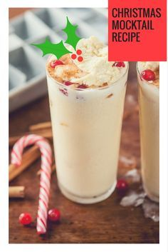Christmas Mocktail Recipe for Christmas and New Year