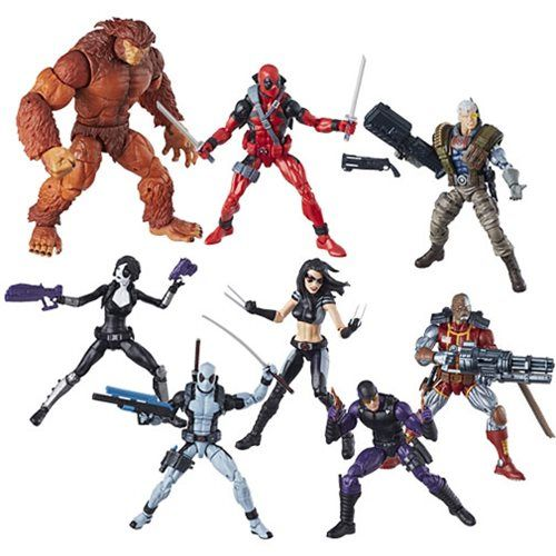 Deadpool Marvel Legends 6-Inch Action Figures Wave 1 Case - Free Shipping  Fight for what's right with these Deadpool Marvel Legends 6-Inch Action Figures! Each exquisite figure was inspired by classic comics or the exciting movies and include the entire suite of articulation you've come to expect from Marvel Legends.    via @AnotherUniverse.com  https://anotheruniverse.com/deadpool-marvel-legends-6-inch-action-figures-wave-1-case-free-shipping