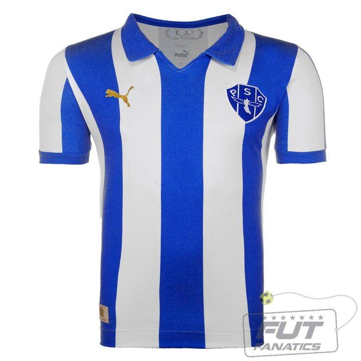 Camisa Puma Paysandu Retro 1914 - Fut Fanatics - Compre Camisas de Futebol Originais Dos Melhores Times do Brasil e Europa - Futfanatics