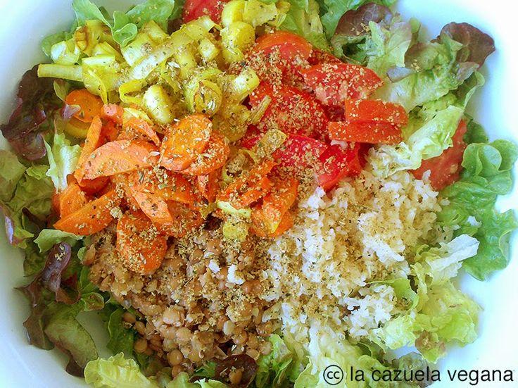 Comida vegana, natural y respetuosa con el medio ambiente.