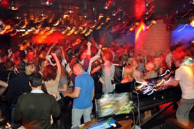 Night club in Berlin