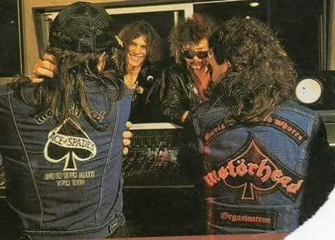 Lemmy Kilmister/Phil Campbell/Wurzel/Phil Taylor
