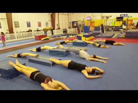 Large Group Conditioning - YouTube