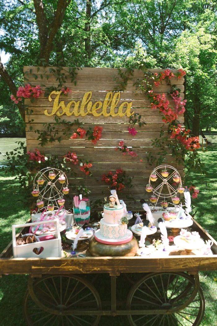 Coachella Inspired Boho Birthday Party Party Planning