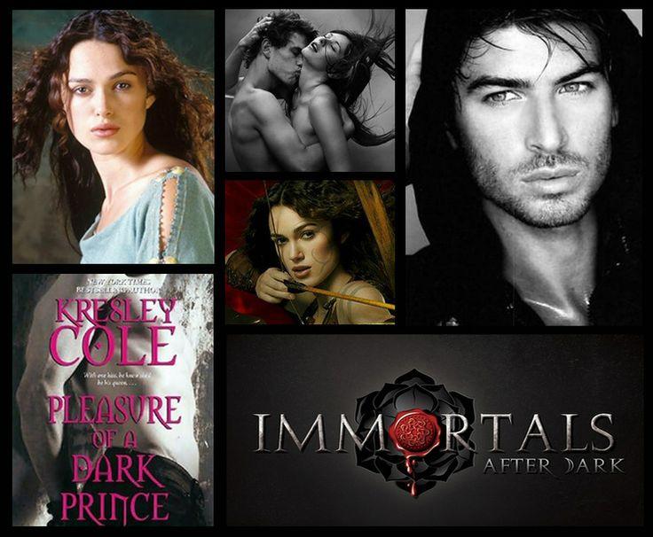Kresley Cole The Immortals After Dark /  Кресли Коул  Бессмертные с приходом темноты/  Наслаждение тёмного принца // Pleasure of a Dark Prince
