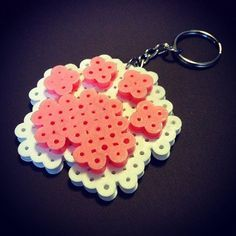 Image result for perler bead paw print