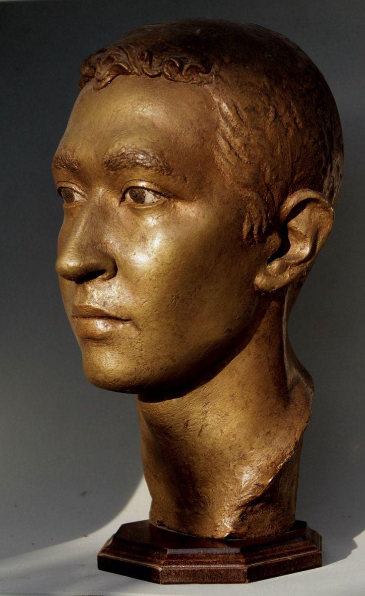 Albert, portrait by Tomas Barcelo Castela. Classic sculpture.
