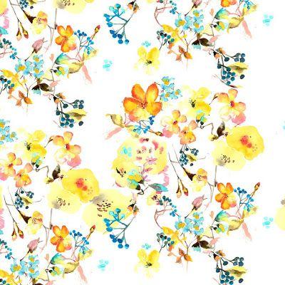 Imprimolandia: Flower patterns