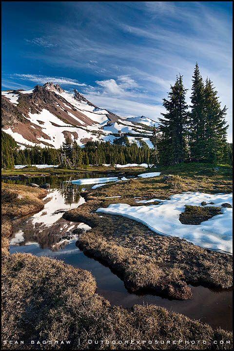 Mt Jefferson Wilderness (Oregon) by Sean Bagshaw