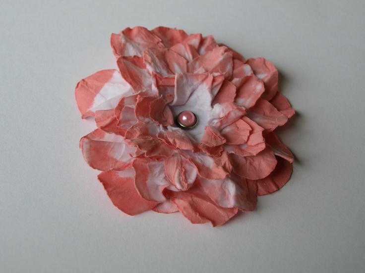 Homemade flower