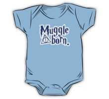 "Harry Potter - ""Muggle Born""  Harry Potter inspired kids clothes available here.   #HarryPotter, #Potterverse, #parenting, #clothing, #kidsclothes,"